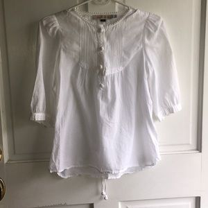 SEE BY CHOLE PEASANT TOP